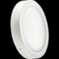 Накладная светодиодная LED панель круглая 12W 4200K (174/158 мм) Lezard