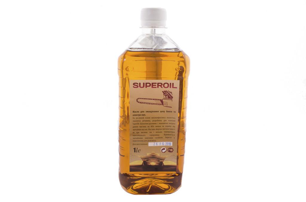 Мастило для змащування ланцюга бензопил Super Oil (1 л)