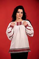 Стильная женская вышиванка, размер 44