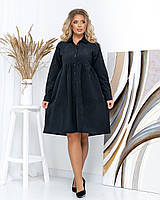 Платье PEONY Аликанте 48 Черный (0610181-48:16)