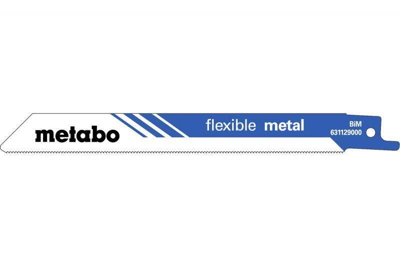 Сабельное полотно Metabo Flexible Metal - 2шт