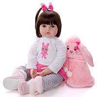 Кукла реборн 62 см девочка Таисия