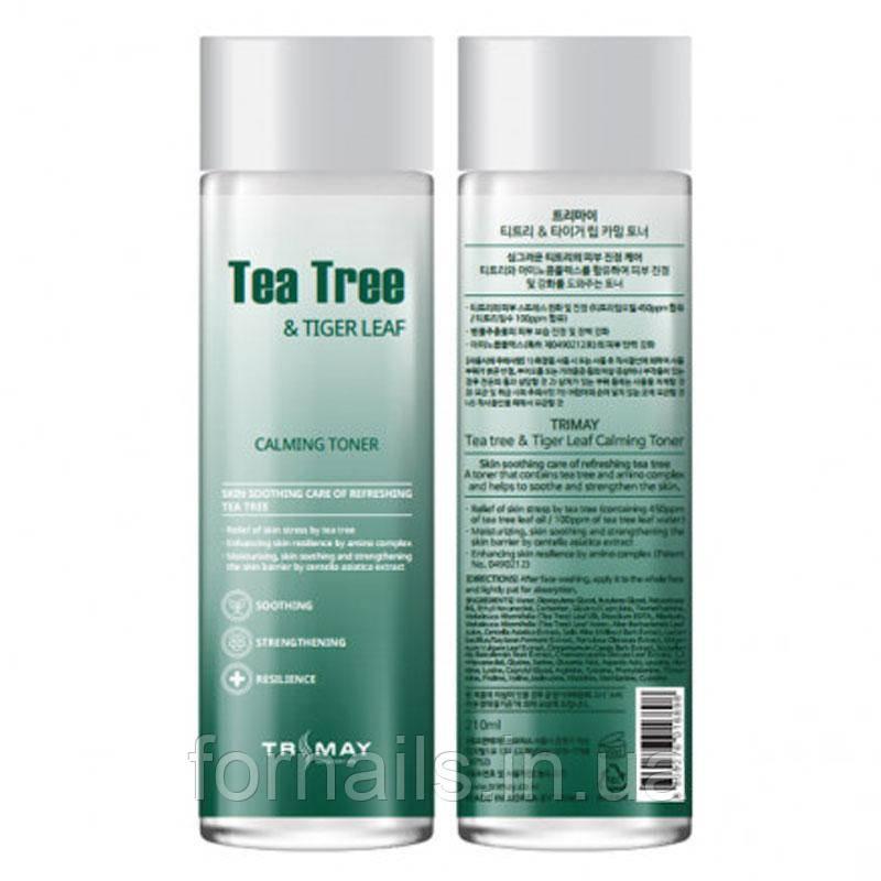 Заспокійливий тонер з чайним деревом і центеллой Trimay Tea Tree & Tiger Leaf Calming Toner 210 мл