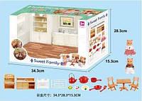 Мебель, кухня-столовая, посуда, фигурка 2шт 8см, в кор. 34,5*23,5*15см (12шт)