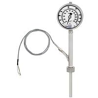 Манометрический термометр с электрическим выходным сигналом Модель 75-8xx с термопарой тип К