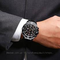 Часы оригинальные мужские наручные кварцевые Megalith 8206M All Black / часы оригинальные черные, фото 3
