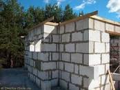 Кладка стін з газобетону
