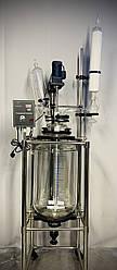 Стеклянный химический реактор на 50 л