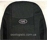 Авточехлы Fiat Doblo 1+1 от 2010-года  Nika Фиат Добло, фото 3