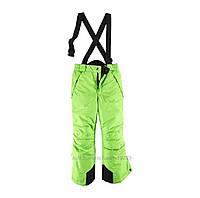 Зимние лыжные салатовые штаны Active Touch р.158/164см
