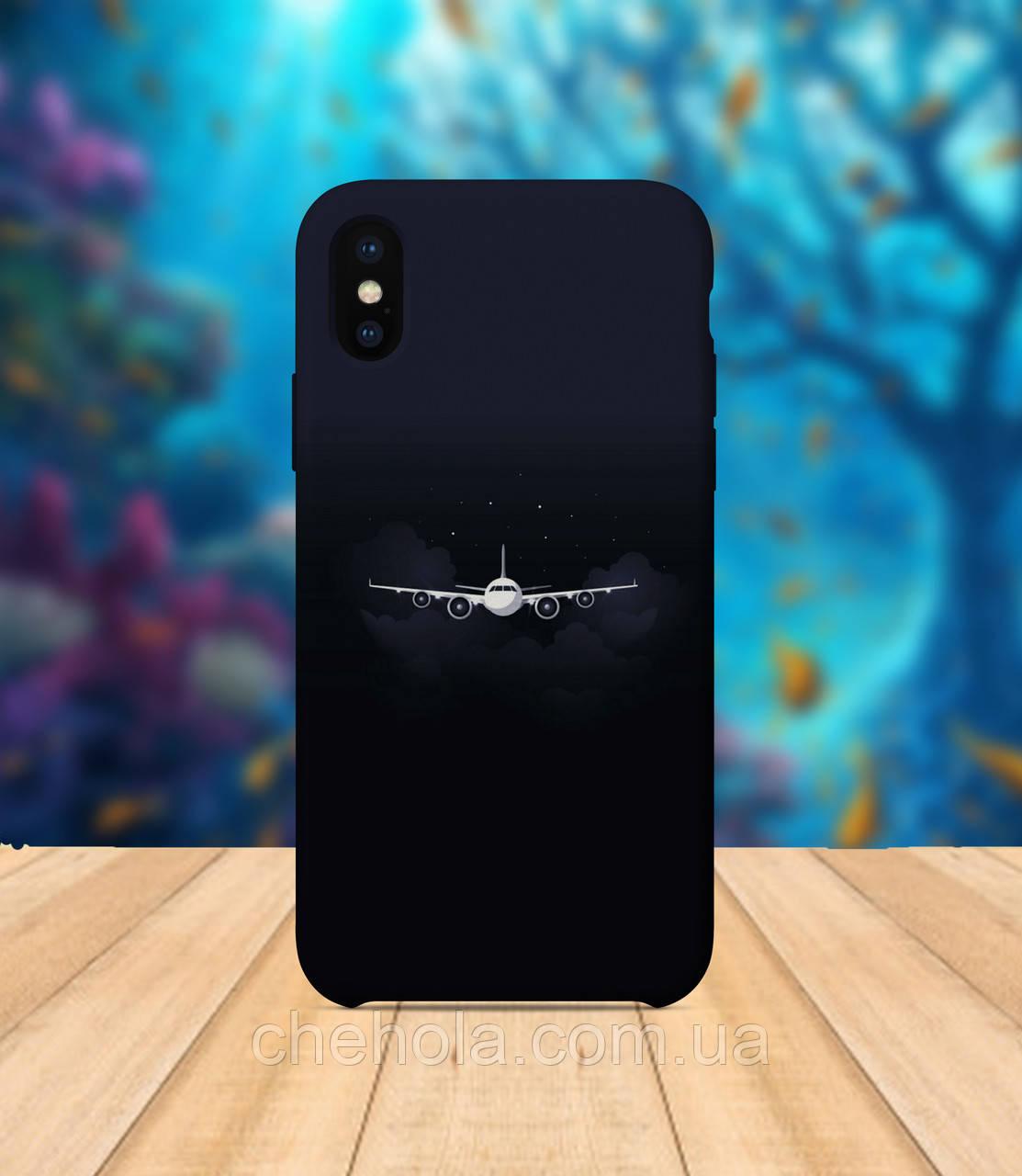 Чехол для apple iphone x XS max Самолет чехол с принтом