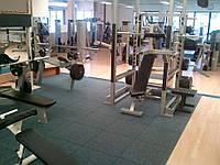Резиновые спортивные покрытия для тренажерных залов, фитнесс-центров и других спортзалов