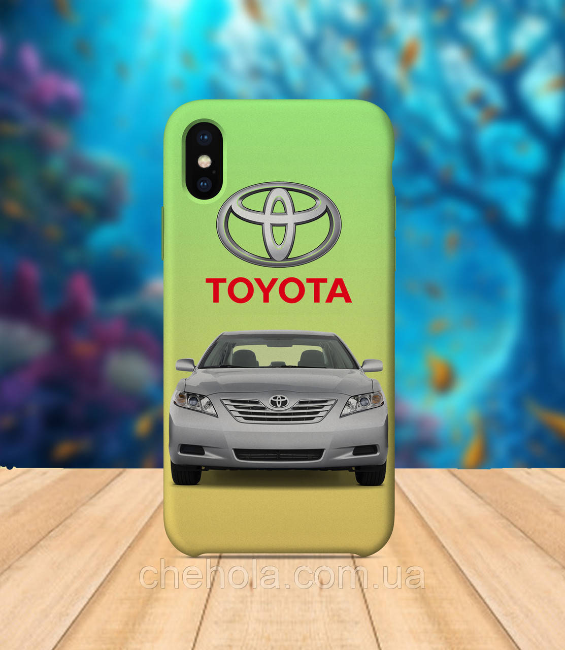 Чехол для apple iphone x XS max Toyota Camry чехол с принтом