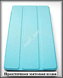 Голубой  tri-fold case чехол-книжка для планшета Asus Zenpad C 7.0 Z170C Z170CG эко кожа PU P01Y, фото 3