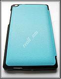 Голубой  tri-fold case чехол-книжка для планшета Asus Zenpad C 7.0 Z170C Z170CG эко кожа PU P01Y, фото 5