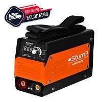 Cварочный инвертор Sturm AW97I255 255 А, 170-250 В, эл 1.6-4 мм 60%, 2,8 кг, дисплей