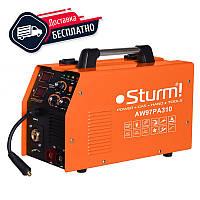 Инверторный полуавтомат Sturm AW97PA310 310 А, 170-250 В, MIG: 0,6 / 1,2 l MMA:1,6-5,0 , 80%