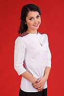 Женская белая вышиванка, размер 44