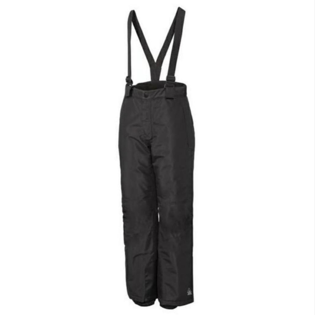 Зимние лыжные черные штаны CRIVIT Pro р.146/152см