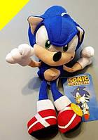 Ёжик, Соник, с мультфильма, super sonic, мягкая игрушка соник, полюшевая игрушка, модная, стильная, игрушка