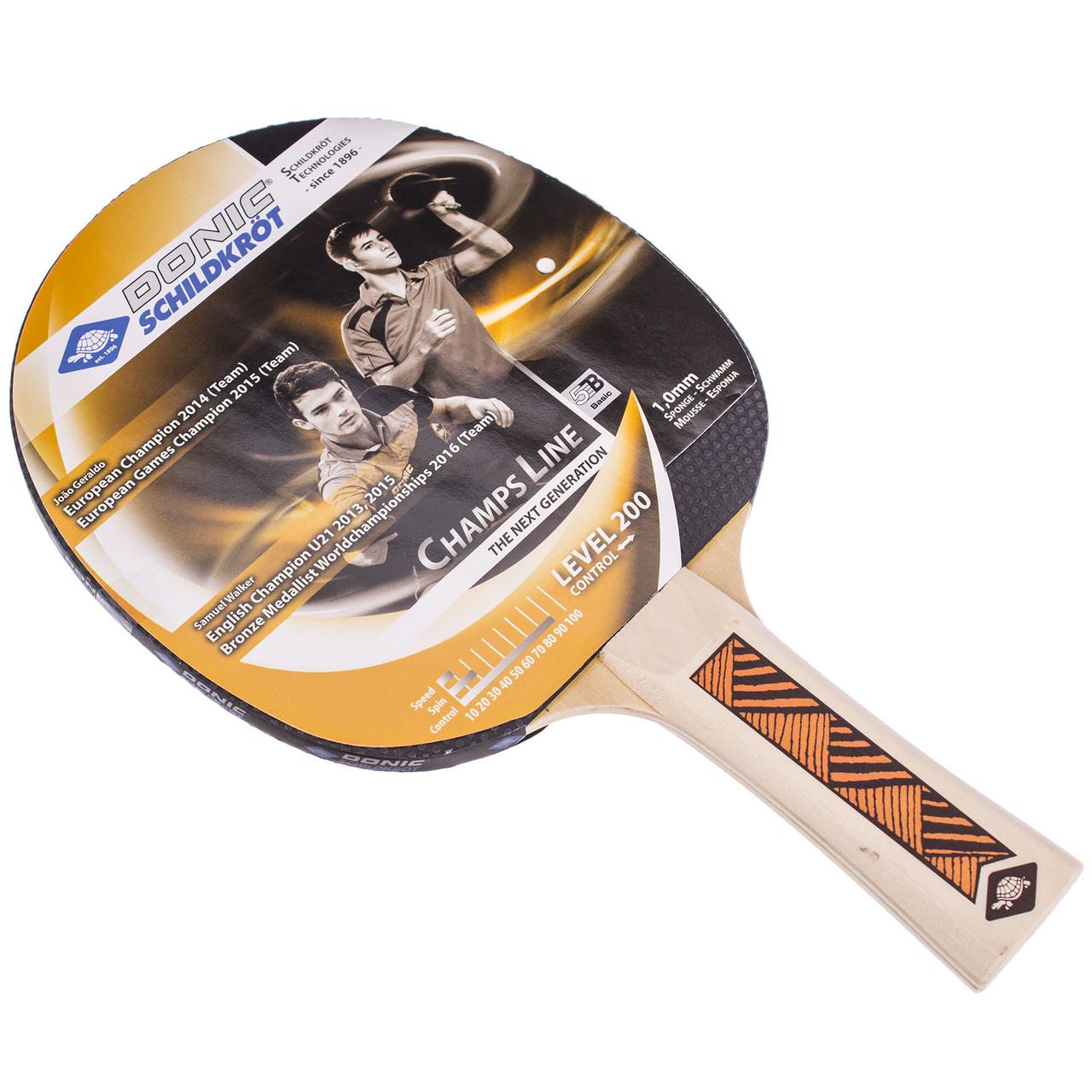 Теннисная ракетка (1 шт) DONIC LEVEL 200 MT-705122