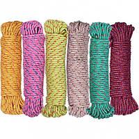 Веревка цветная D 6мм 20м Х2-250