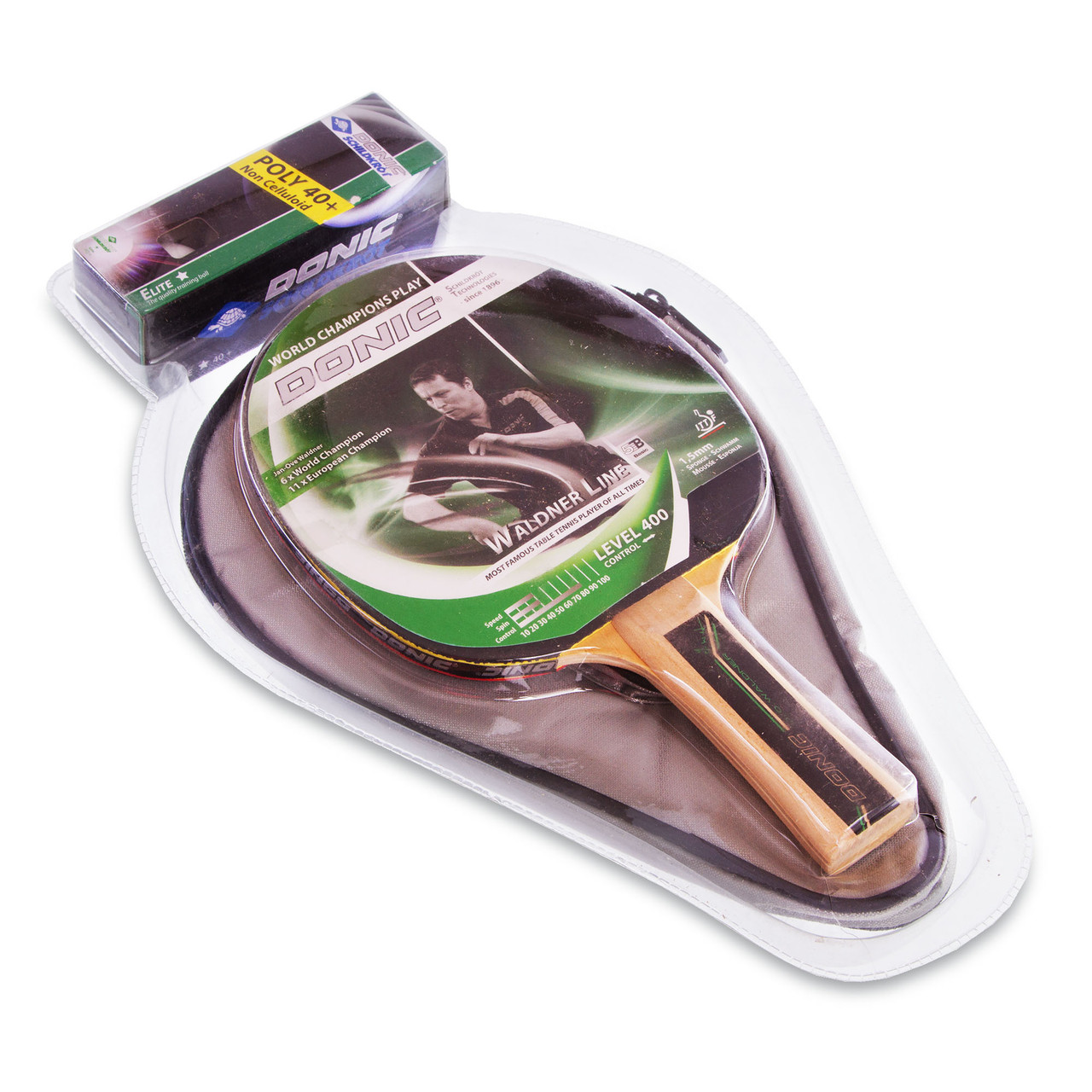 Комплект для настольного тенниса DONIC Уровень 400 MT-788484