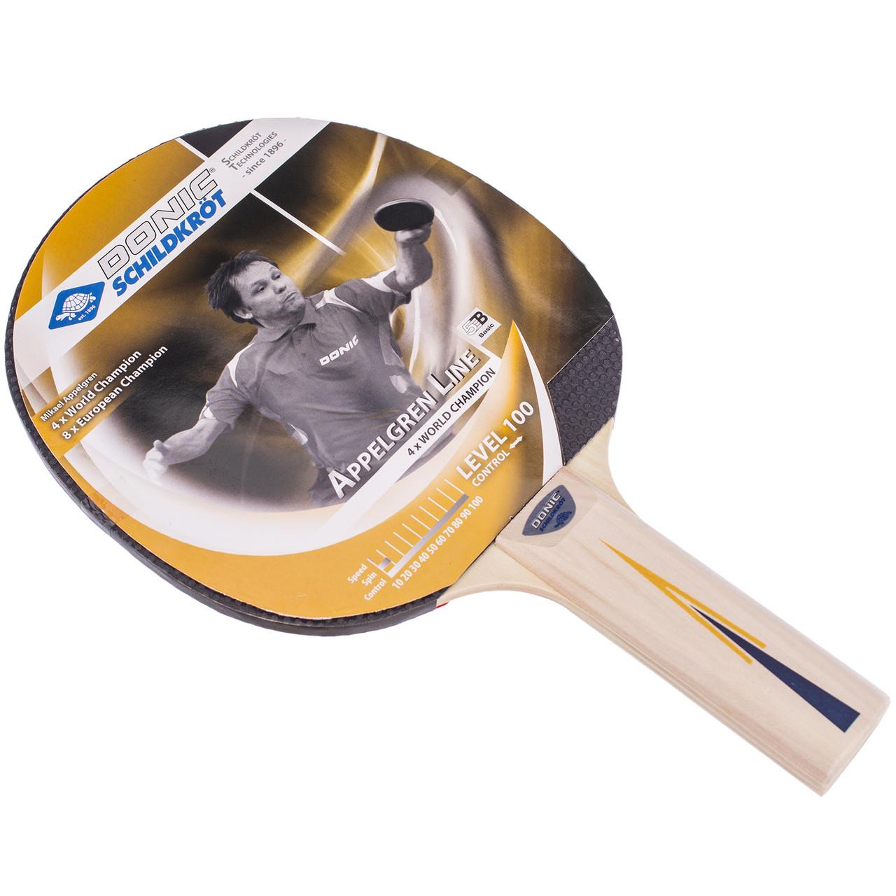 Ракетка для настольного тенниса (1 шт) DONIC LEVEL 100 MT-703004