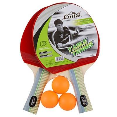 Ракетки (набор) для настольного тенниса Cima (2 ракетки 3 шарика) CM700-2