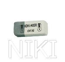 Гумка Koh-i-Noor  біло-сіра 80шт/уп, 6541/80