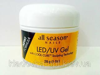 Моделирующий гель LED/UV All Season (прозрачный), 28 г