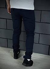 Теплые штаны карго синие Conqueror Intruder + подарок ключница, фото 3