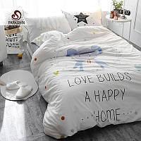 Комплект постельного белья счастливый слон (полуторный) berni home Berni Home