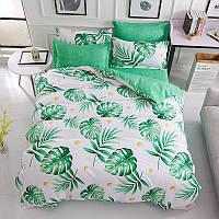 Комплект постельного белья тропическая листва (полуторный) berni home Berni Home