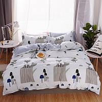 Комплект постельного белья лиса на пне (двуспальный-евро) berni home Berni Home