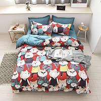 Комплект постельного белья mr. shiba inu (двуспальный-евро) berni home Berni Home