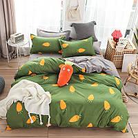 Комплект постельного белья carrot (двуспальный-евро) berni home Berni Home