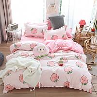 Комплект постельного белья strawberry (двуспальный-евро) berni home Berni Home