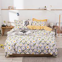 Комплект постельного белья white flowers (двуспальный-евро) berni home Berni Home