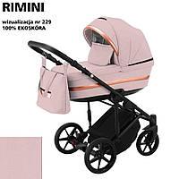 Коляска 2 в 1 Adamex Rimini ECO кожа 100% RI-229