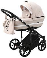 Коляска 2 в 1 Adamex Rimini Tip RI-80 Розовая Коляска для новорожденного