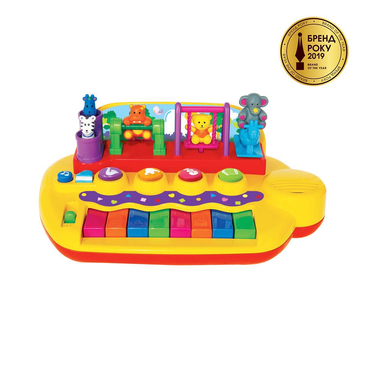 Піаніно - ЗВІРЯТА НА ГОЙДАЛЦІ (звук), 033423