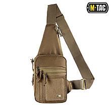 M-Tac сумка-кобура наплечная с липучкой Coyote