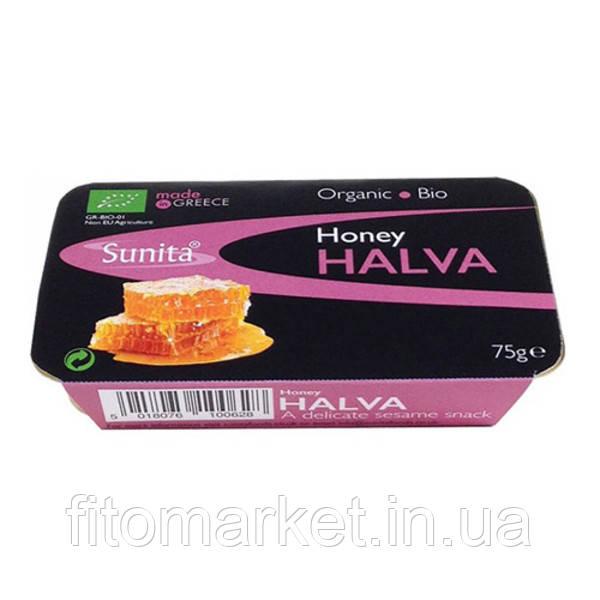 Халва кунжутная с медом Halva with Honey 75 г