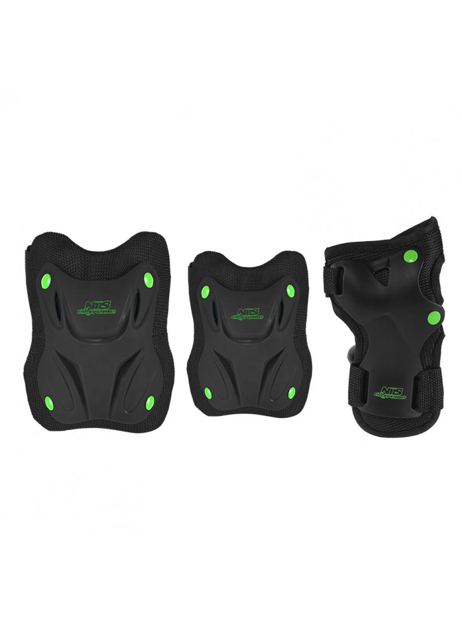Комплект защитный Nils Extreme H407 Size L Black/Green
