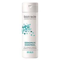 Безсульфатний шампунь проти лупи для всіх типів волосся Biotrade SEBOMAX 200 мл