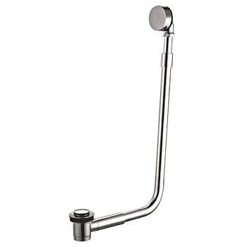 Сифон наружный металлический для ванн отдельностоящих