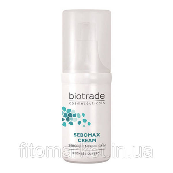 Ніжний крем заспокійливий при себорейному дерматиті і демодекозі Biotrade SEBOMAX 30 мл