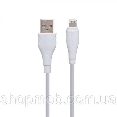 USB Borofone BX18 Lightning Цвет Белый, фото 2