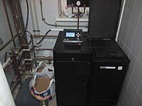Монтаж пеллетного котла (до 30 кВт)